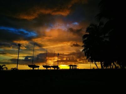 Puesta de sol, Ponce